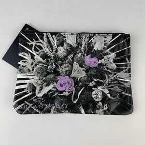 Urban Decay Purple Roses Makeup Bag Cosmetic Pouch